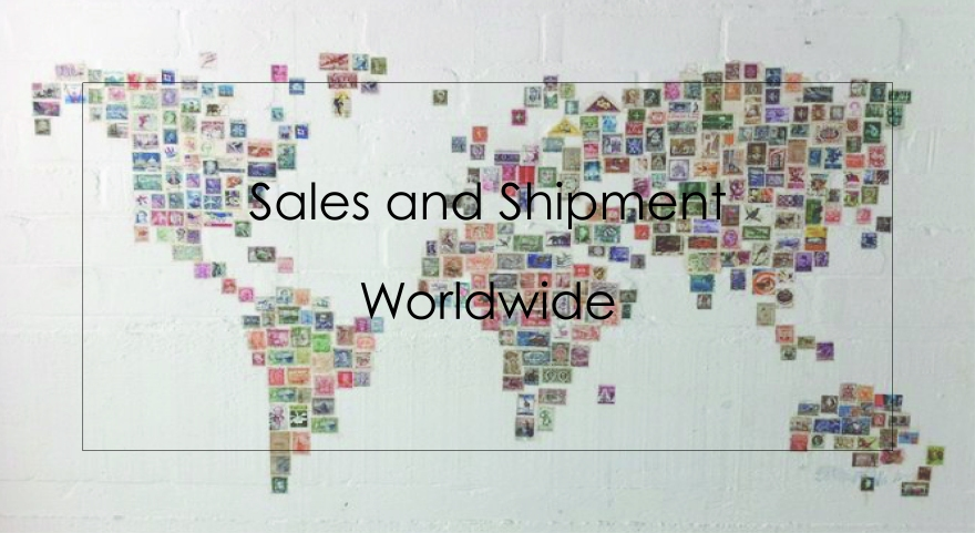 sales and shipment worldwide