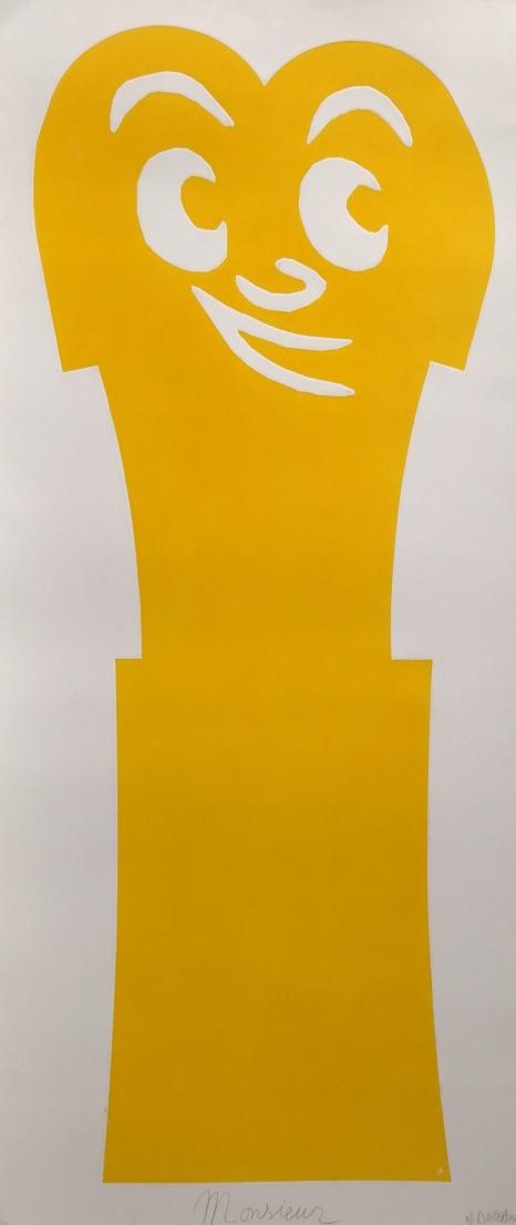 Monsieur - 2007 160 x 70 cm