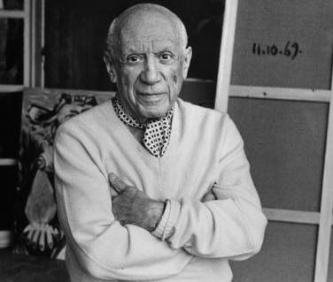 Pablo Picasso - © Lucien Clergue