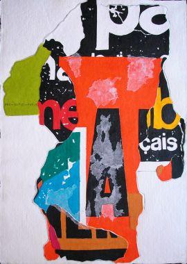 NOUVEAUTE Aquagravure #2 - 76 x 56 cm
