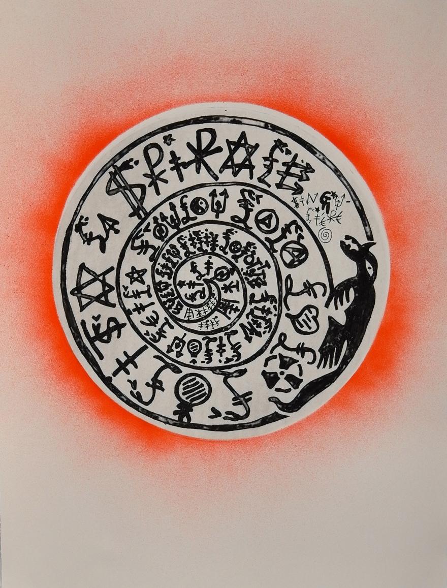 Spirale singulière - 2013 - 65 x 50 cm