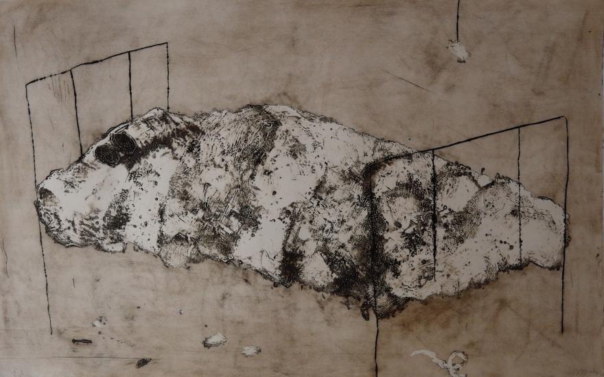 Lit - 1987 - 97 x 153 cm