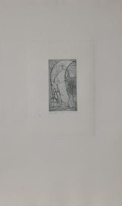 Oiseau vierge - 1955 - 12,5 x 6,8 cm (img)