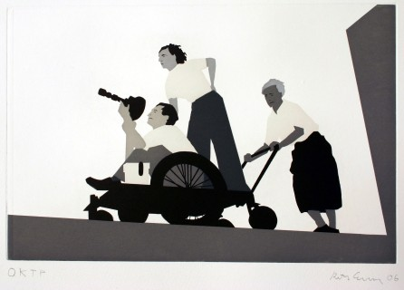 Riefenstahl - 2006 - 50 x 48 cm
