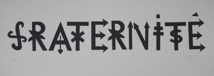 Fraternité - 28 x 76 cm